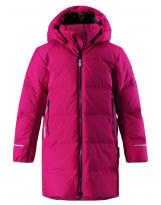 Пуховик малиновый лыжный зимний - куртка Reima tec WISDOM 531353