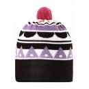 Шапка-бини с бубоном шерстяная Reima Рейма Kobuk 528591-5181