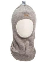 Шерстяной светло-коричневый зимний шлем Kivat - Киват