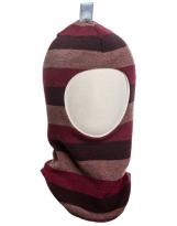 Шерстяной полосатый зимний шлем Kivat - Киват