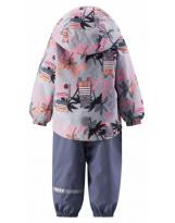 Демисезонный розовый костюм комплект Lassie Ensi 713743R