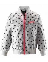 Куртка ветровка белая демисезонная Lassie Mitja 721743