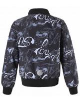 Куртка ветровка черная демисезонная Lassie Mitja 721743