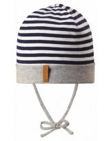 Демисезонная темно-синяя шапка бини Reima - Рейма Huvi 518514