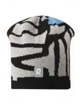Демисезонная черная шапка бини Reima - Рейма Lehto 538052