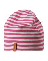 Демисезонная розовая двусторонняя шапка бини Reima - Рейма Tanssi 538056