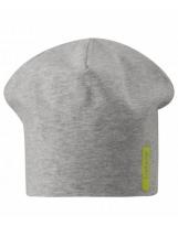 Двусторонняя демисезонная зеленая шапка бини Lassie 728757