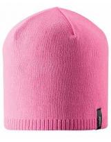 Демисезонная розовая шапка бини Lassie 728760