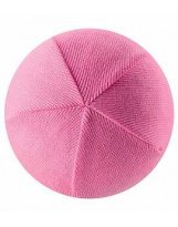 Демисезонная розовая шапка бини Lassie 728760/4180