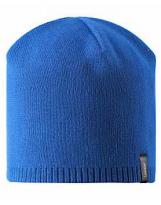 Демисезонная темно-синяя шапка бини Lassie 728760