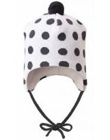 Демисезонная белая шапка бини Lassie 718766