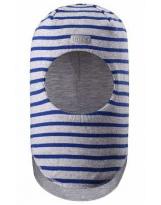 Шлем демисезонный синий полосатый Lassie by Reima 718758
