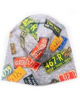 Демисезонная хлопковая шапка Lenne TAMMY 19677