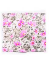 Хлопковый шарф-снуд с котиком Lenne POP 19699