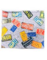 Хлопковый шарф-снуд Lenne POP 19699