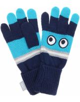 Перчатки синие демисезонные Lenne Glaes 19296