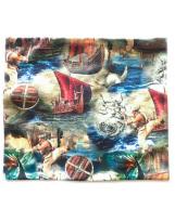 Хлопковый шарф-снуд викинг Lenne POP 19699