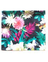 Хлопковый шарф-снуд цветы Lenne POP 19699