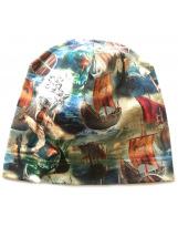 Демисезонная хлопковая шапка Викинг Lenne TAMMY 19677