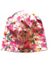 Демисезонная хлопковая шапка Цветы Lenne TAMMY 19677