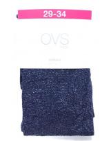 Итальянские темно-синие капроновые колготки OVS
