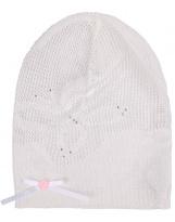 Белая шапка для девочки Flash - Флеш 12D419/1500