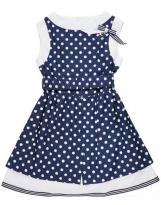Летний синий сарафан платье для девочки Flash - Флеш 16TD774/2065