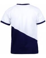 Футболка сине-белая Flash - Флеш 18B55/3/2650/2000