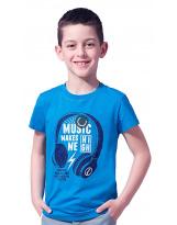 Футболка синяя Summer Teens 74-9008-2