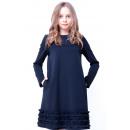 Синее платье для школы Viani / Виани ШК209/1