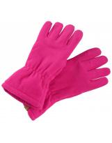 Малиновые флисовые перчатки Reima Varmin 527329/4650