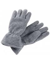 Серые флисовые перчатки Reima Varmin 527329/9400