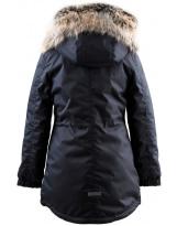 Парка черная зимняя Lenne - Ленне куртка ANGEL 19362/042