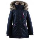 Парка темно-синяя зимняя Lenne - Ленне куртка ANGEL 19362/229
