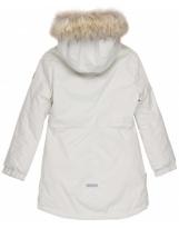 Парка белая зимняя Lenne - Ленне куртка TESSA 19363/101