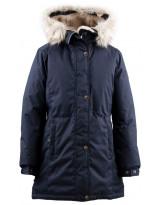 Парка графитовая зимняя Lenne - Ленне куртка TESSA 19363/987