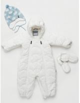 Зимний белый комбинезон-трансформер Lassie Sointi 710732.9/0110