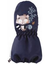 Зимние бордовые рукавицы краги LASSIE - ЛАССИ BY REIMA Milvi 717717/6950