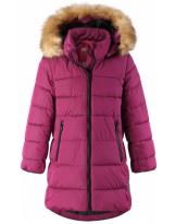 Пуховик малиновый зимний - куртка Reima Lunta 531416/4650