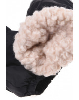 Зимние черные рукавицы краги Lenne Active 19175/042