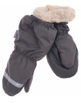 Зимние серые рукавицы краги Lenne Active 19175/470