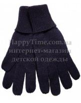 Перчатки темно-синие шерстяные зимние Lenne KIRA 19593/229