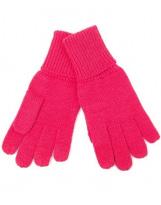 Перчатки малиновые шерстяные зимние Lenne KIRA 19593/267