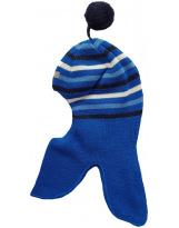 Зимний синий в полоску шлем - Lenne - Ленне MART 19580/632