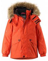 Зимняя оранжевая парка куртка Reima tec - Рейма Skaidi 521605/2773