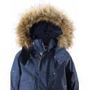 Зимняя темно-синяя парка куртка Reima tec - Рейма Skaidi 521605/6981