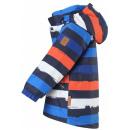 Зимняя полосатая парка куртка Reima tec - Рейма Nappaa 521613/2775