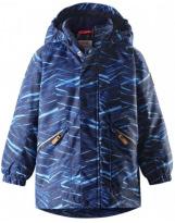 Зимняя темно-синяя парка куртка Reima tec - Рейма Nappaa 521613/6504
