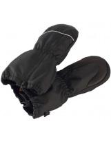 Зимние черные непромокаемые рукавицы Reima Tepas 517203/9990