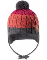Шерстяная зимняя шапка-бини с завязками Reima Nuutti 518534/4651